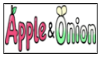 Apple and Onion Stamp