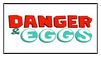 Danger and Eggs Stamp
