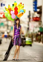 Tail of rainbow by widjita