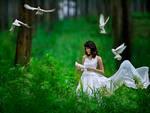 White Goddess by widjita