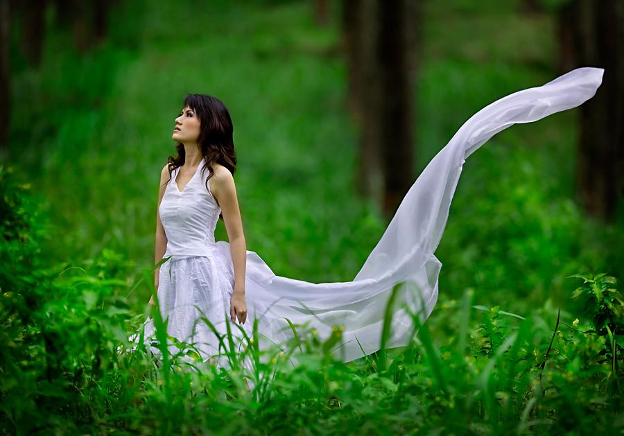 White Goddess II by widjita