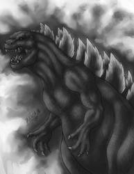 The king of monsters Godzilla
