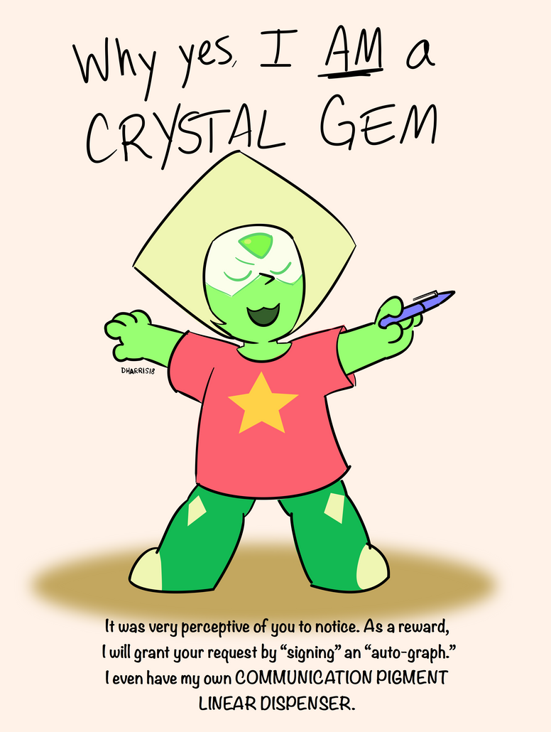 How Peridot gets her star by allthecircles