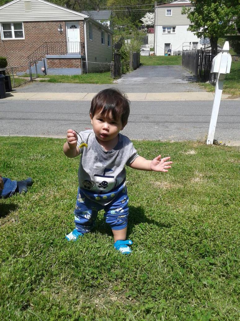 He walks now my little angek by nessalover202