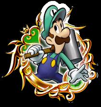 Illustrated Luigi (Mario and Luigi) Medal by SuperRhys217