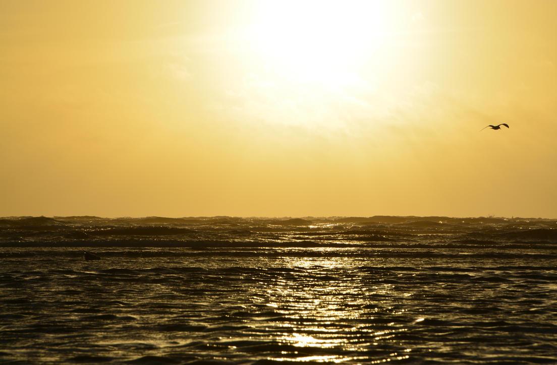 Sunset on Fano (#003) by mof-te