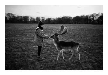 deer sister by SimonSawSunlight