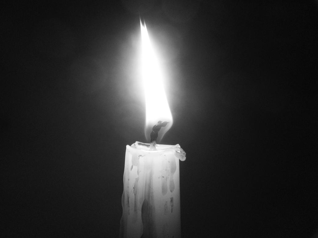 The Candle (Black and White) by Frostmoon-Esme on DeviantArt for candle photography black and white  589ifm