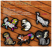Custom Stickers Advertisement by Drodengera