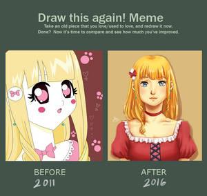 Draw Again Meme 2011 - 2016