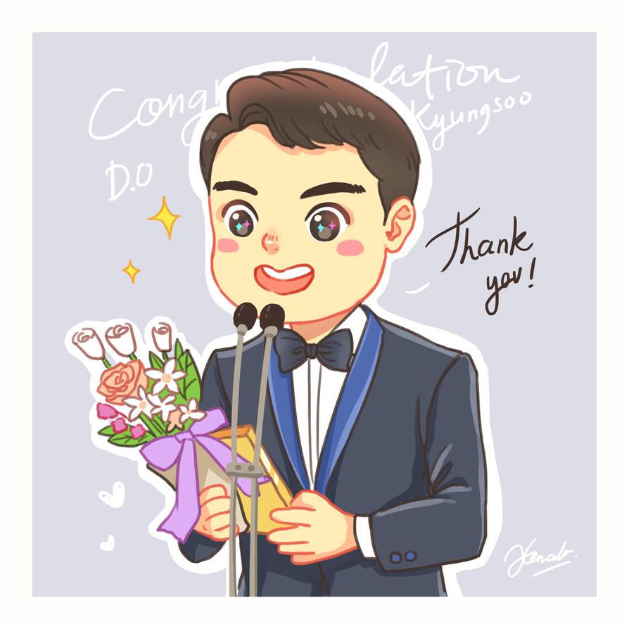 Congratulation Kyungsoo Penguinn by kemalamalax3