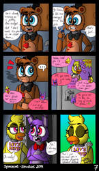 Out Of Order - A FNaF Comic - Ch. 1 P. 7 by Spacecat-Studios