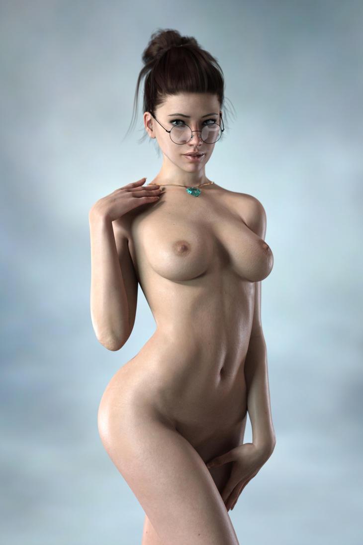 Gina naked 2 by FranPHolland