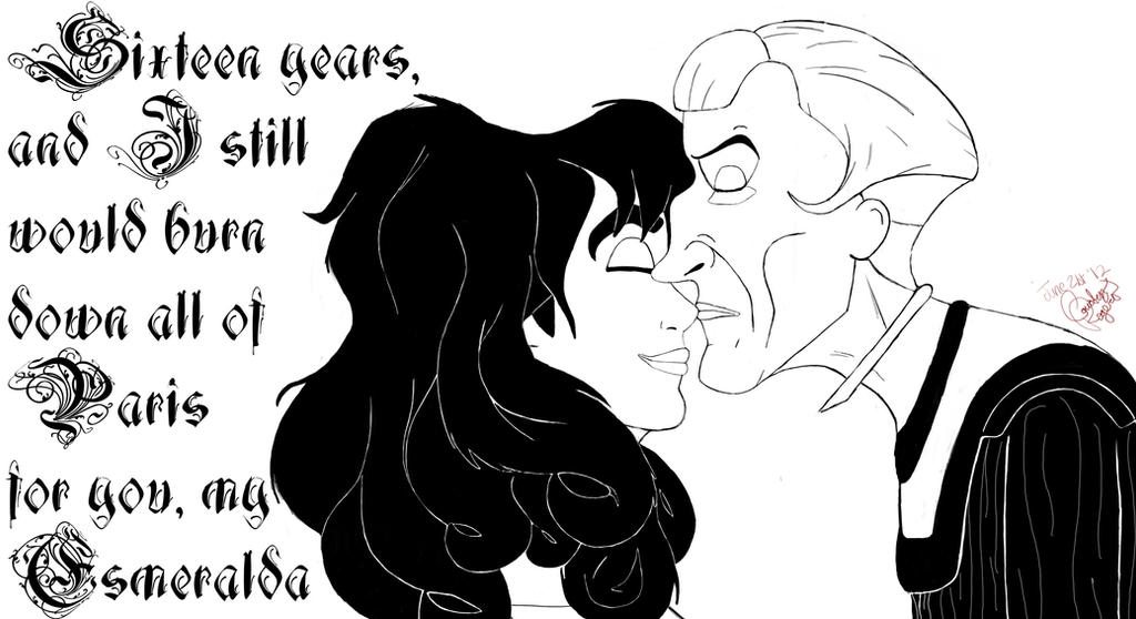 Happy 16th Anniversary Hond By Xclaudefrollo4lifex On Deviantart