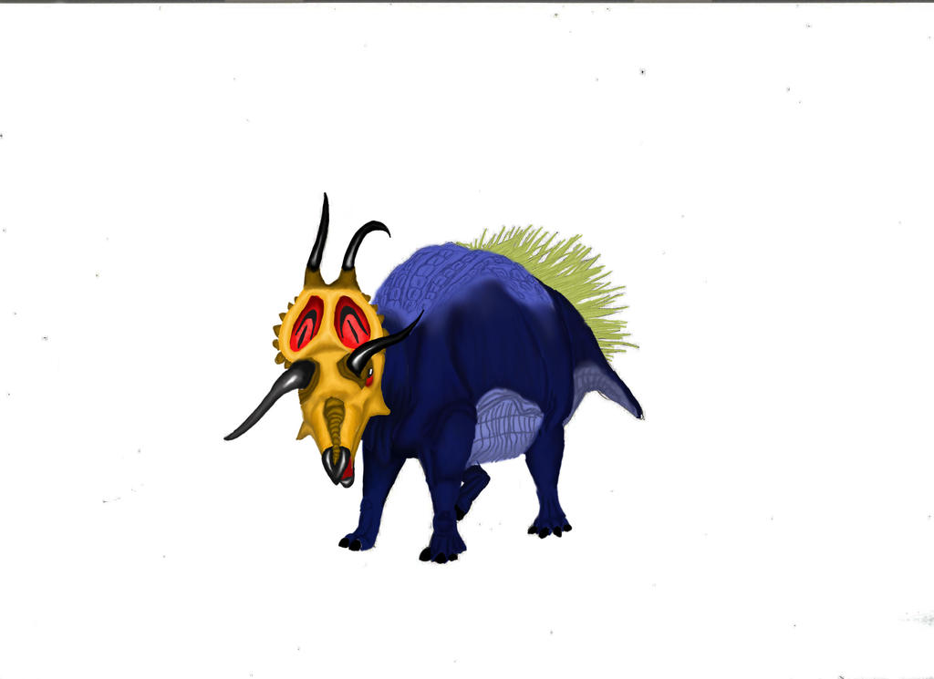 Diabloceratops colored