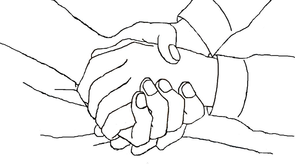 Line Art Hands : Soul and maka s hands line art by sangomirokushipper on