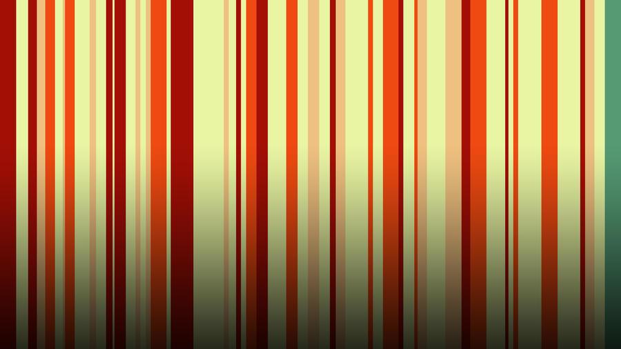 Green Striped Wallpaper by RockerX-Rx