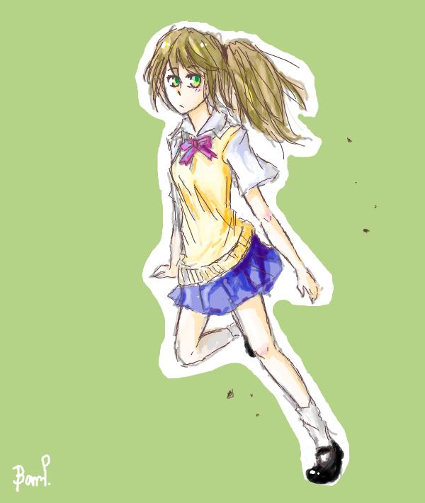 run girl,run by piyachanok07