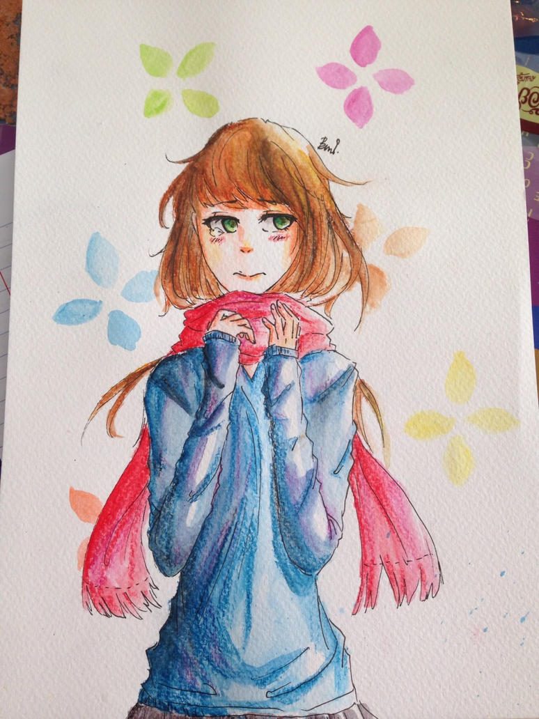 it's very cold by piyachanok07