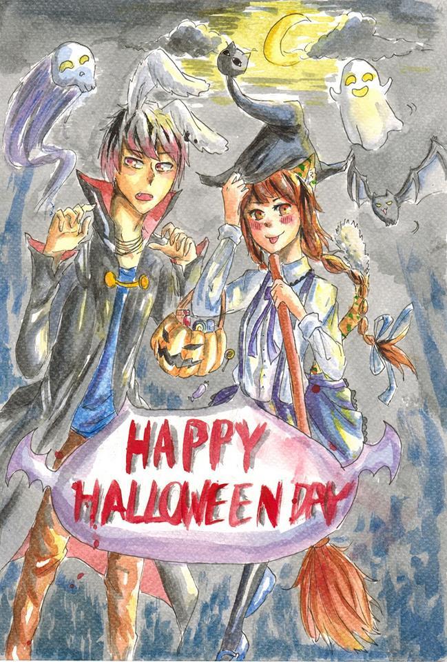 late halloween by piyachanok07