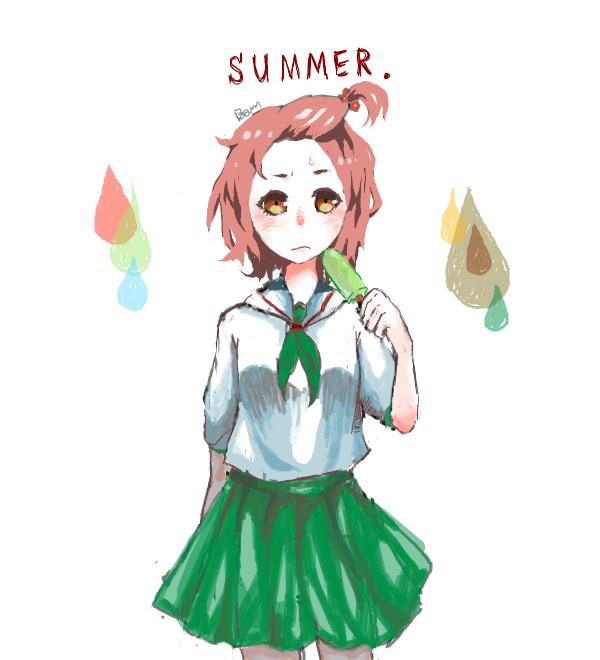 In summer by piyachanok07