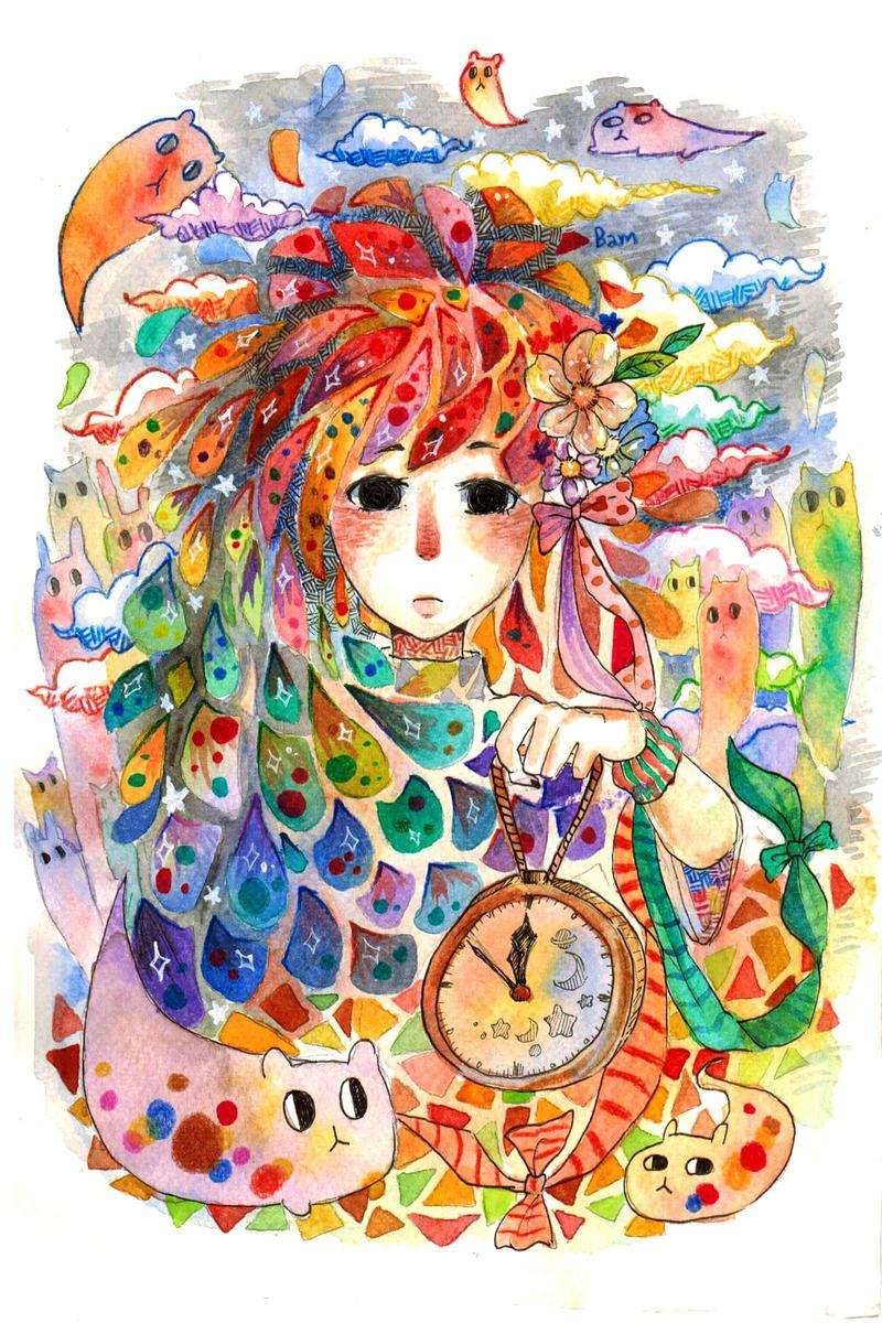 Time's up by piyachanok07