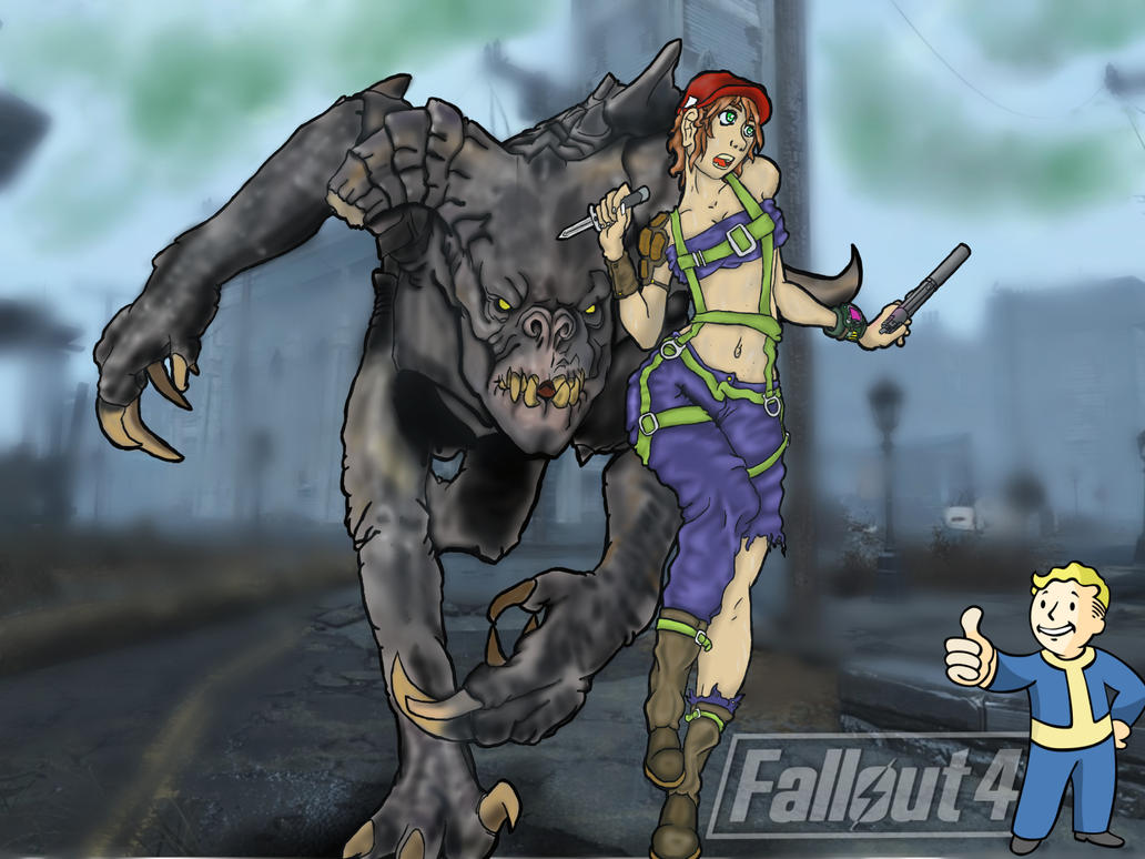 Run For Your Life Fallout 4 By Animedudevid On Deviantart