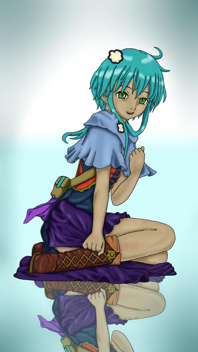 Nextbit Robin Wallpaper by animedudevid
