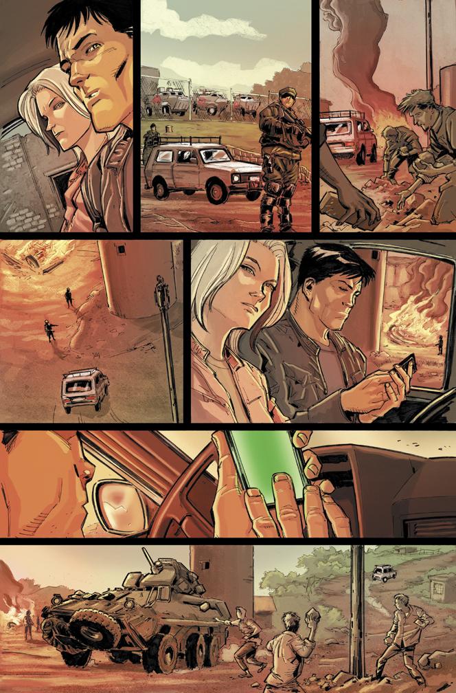 GIJOE #8 pg 14 by KitoYoung