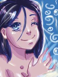Breathing underwater by amazonitte