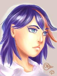 Fanart: Ryuuko by amazonitte
