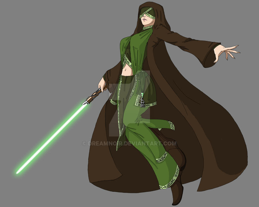 Jedi Consular -Sage - Seer- by DreamNoir