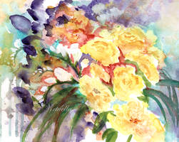 Mess of Flowers by Virtuella