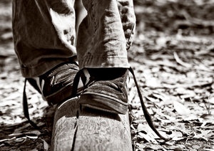 YOUNG - walking by line by onewordphoto