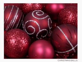 Christmas-Ilse-Christmas Balls by onewordphoto