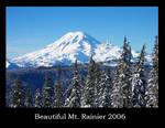 Beautiful Mt Rainier 2006 by LunaRune