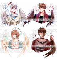 (CLOSED TY!) Angel Bust Adopts by SymFay