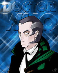 The Shalka Doctor by ChikKV
