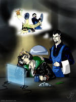 Shalka: Doctor and Master 2 by ChikKV