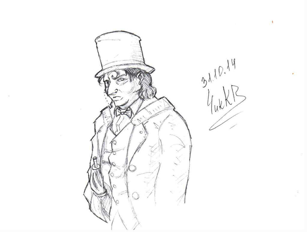 The Penguin (sketch) by ChikKV