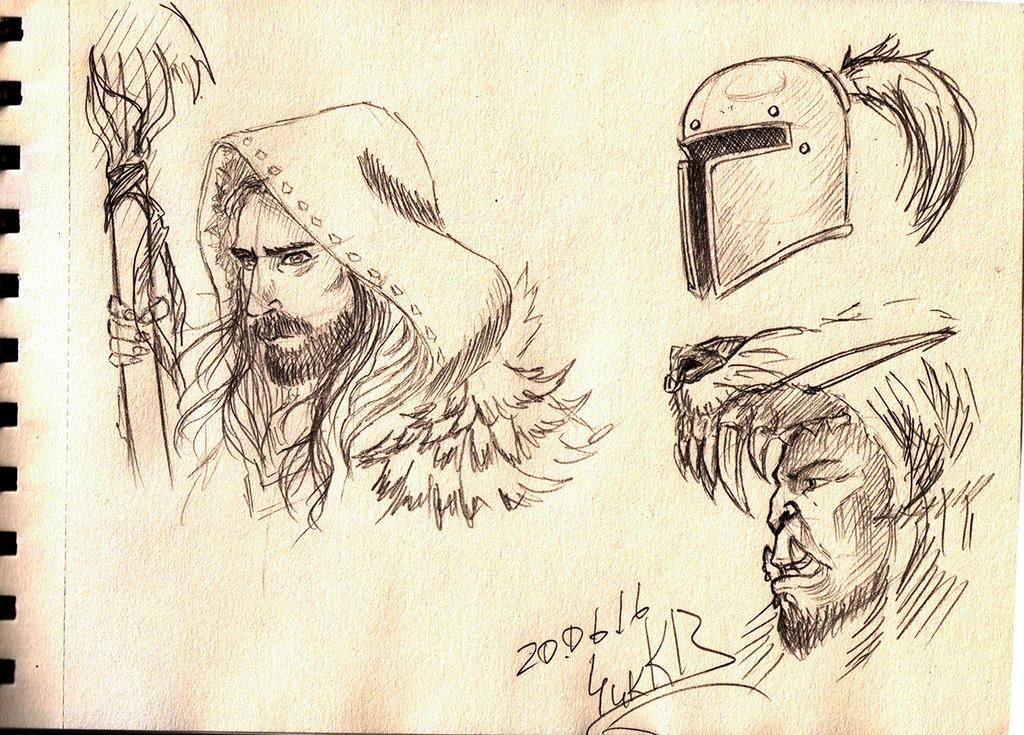 20.06.16_sketch Warcraft by ChikKV
