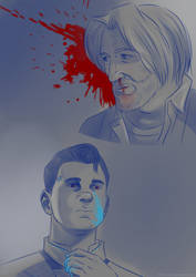 Connor x Hank by ChikKV