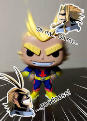 All Might by ChikKV
