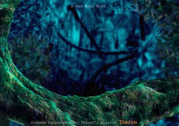 Tarzan by amadmanswork