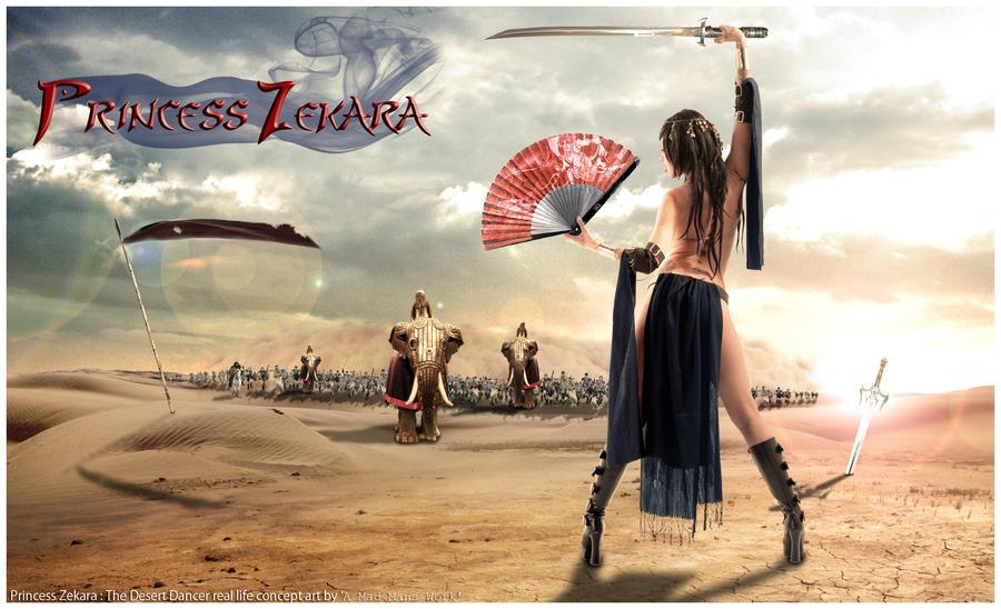 Princess Zekara by amadmanswork