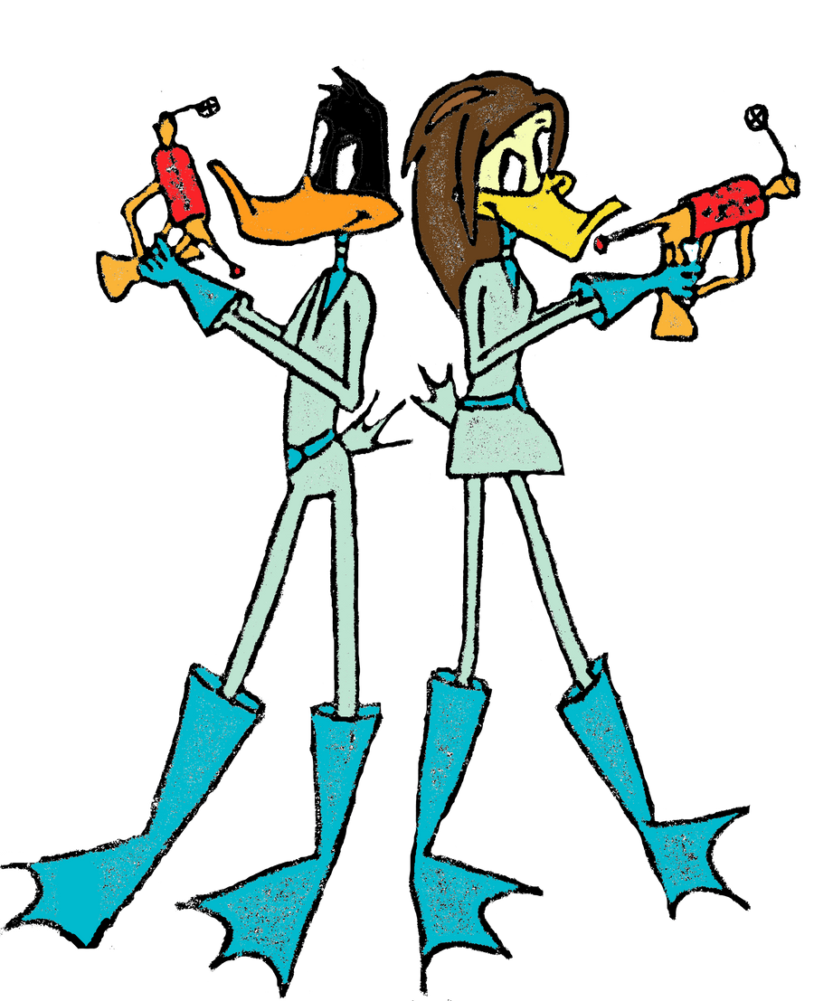 Daffy and Tina Duck Do... Daffy Duck And Tina Duck