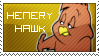 Henery Hawk Stamp