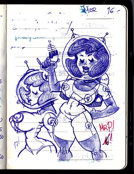 SpaceGirl! by SenorPerez
