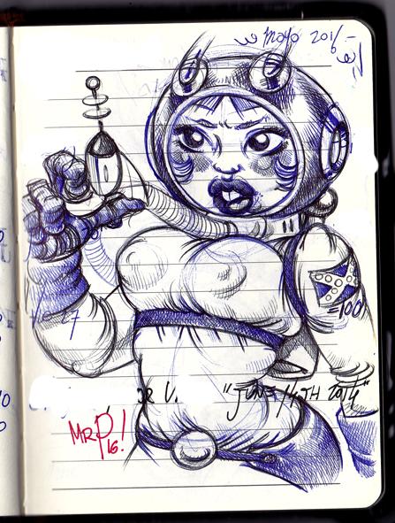 Spacegirl! y dos by SenorPerez