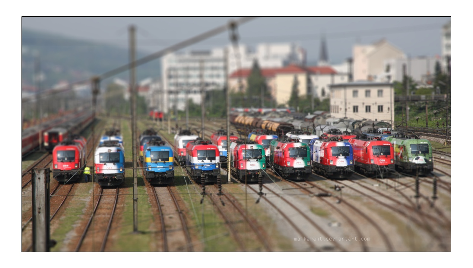 Tilt Shift Taurus by maikarant
